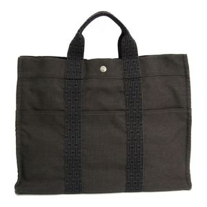 Hermes Her Line MM Men's Polyamide,Polyester Tote Bag Gray