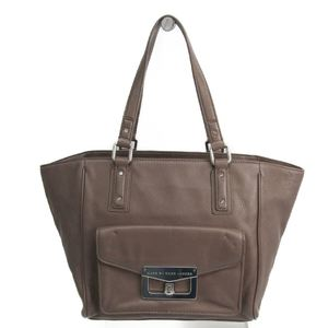 Marc Jacobs By Marc Jacobs M3121058 Women's Leather Handbag Grayish