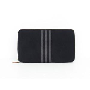 エルメス フール・トゥ キャンバス 長財布(二つ折り) ブラック