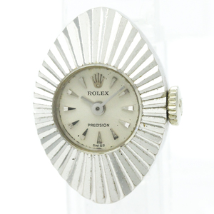 Rolex Chameleon Mechanical White Gold Women's Dress Watch