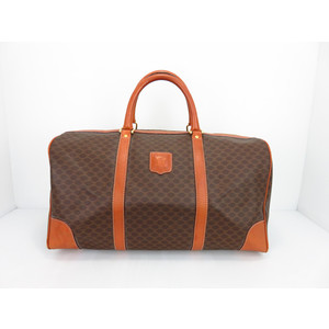 Celine PVC,Leather Boston Bag
