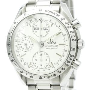 OMEGA Speedmaster Triple Date Steel Automatic Watch 3521.30