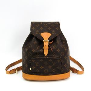 b5cb51ebaf2 Louis Vuitton Monogram Montsouris MM M51136 Backpack Monogram