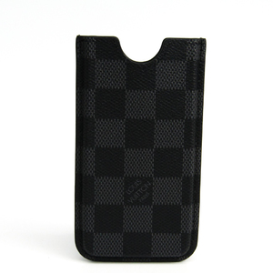 Louis Vuitton Damier Damier Canvas Phone Pouch/sleeve For IPhone 5 Damier Graphite Etui iPhone 5 N63184