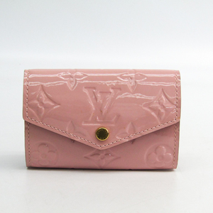 Louis Vuitton Monogram Vernis Monogram Vernis Key Case Rose Ballerine 6 Key Holder M61233