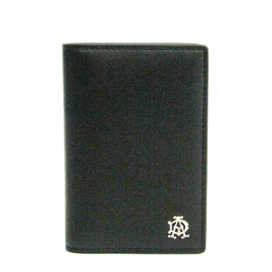 Dunhill Leather Card Case Black