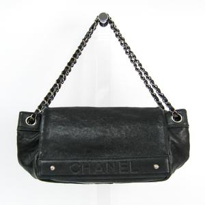Chanel Caviar Skin Chain Shoulder Women's Caviar Leather Shoulder Bag Black