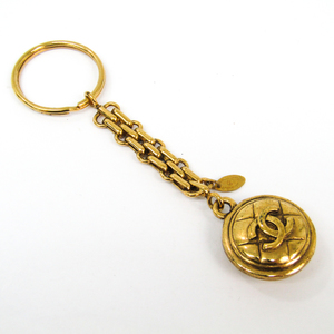 Chanel Coco Keyring (Gold)