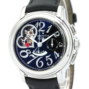 ZENITH Chronomaster Star Open Heart Steel Watch 03.1230.4021