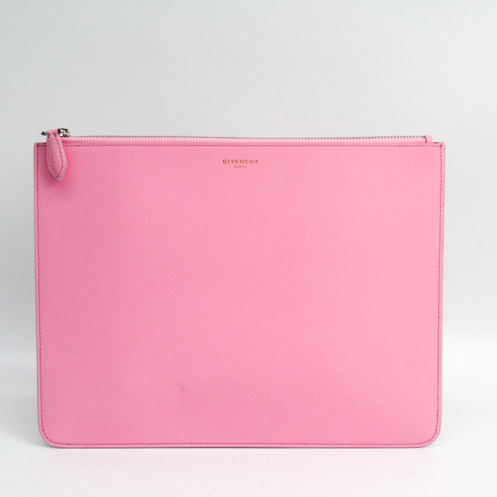 ジバンシィ(Givenchy) レディース レザー クラッチバッグ ピンク
