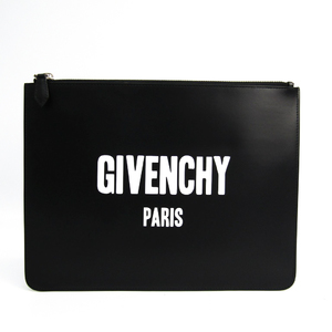 Givenchy BK06071562001 Unisex Leather Clutch Bag Black,White