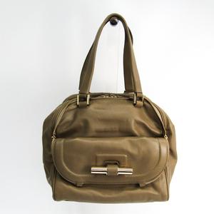 Jimmy Choo Justine Women's Leather Handbag Beige