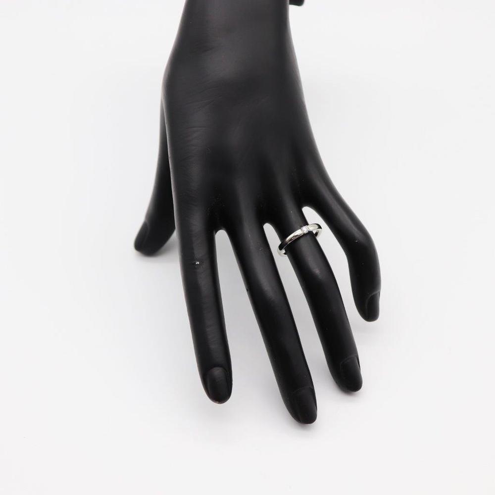 ヨンドシィ(4℃) Pt950(プラチナ) ファイン ダイヤモンド リング プラチナ ロジウムメッキ パーフェクトプラチナ 1Pダイヤリング