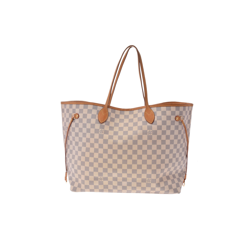 Louis Vuitton Damier Neverfull GM N51108 Women s Tote Bag Azur 30e0a2ffc9