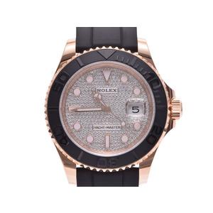 Rolex Yacht-Master 40 Automatic Rose Gold (18K) Pave Diamond Men's Dress Watch 116655