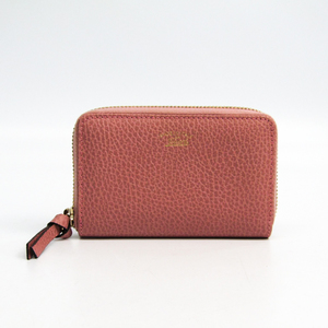 Gucci 368877 Women's Leather Card Wallet Light Pink
