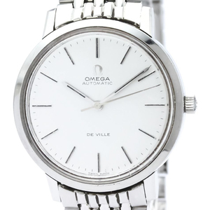 Omega De Ville Automatic Stainless Steel Men's Dress Watch 167.754