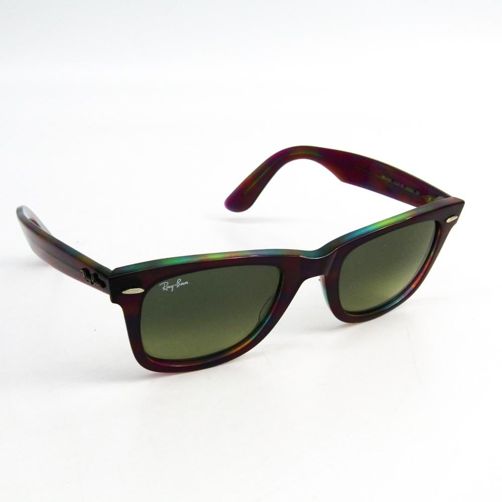 fe5442e52dede Ray-Ban Unisex Wayfarer Sunglasses Purple WAYFARER RB2140