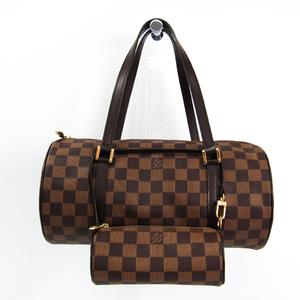 ルイ・ヴィトン(Louis Vuitton) ダミエ パピヨン30 N51303 ハンドバッグ エベヌ