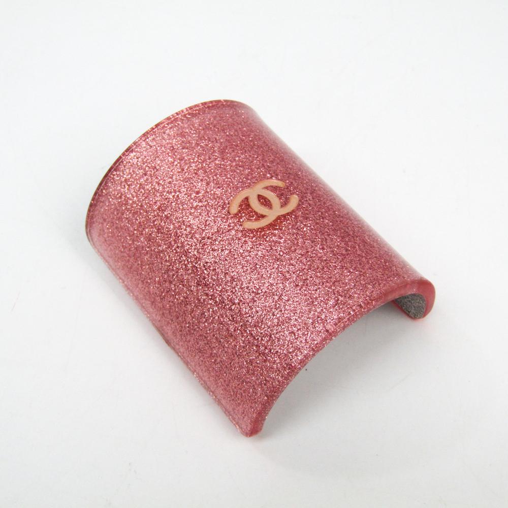 シャネル(Chanel) ココ プラスチック レディース バレッタ ピンク