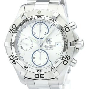 Tag Heuer Aquaracer Automatic Stainless Steel Men's Sports Watch CAF2111