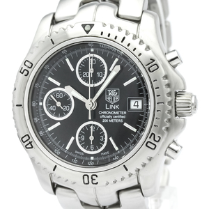 TAG HEUER Link Chronograph Steel Automatic Mens Watch CT5111