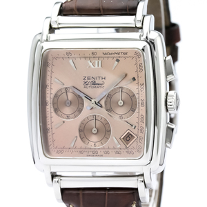 Zenith Class Automatic Stainless Steel Men's Sports Watch 01.0420.400