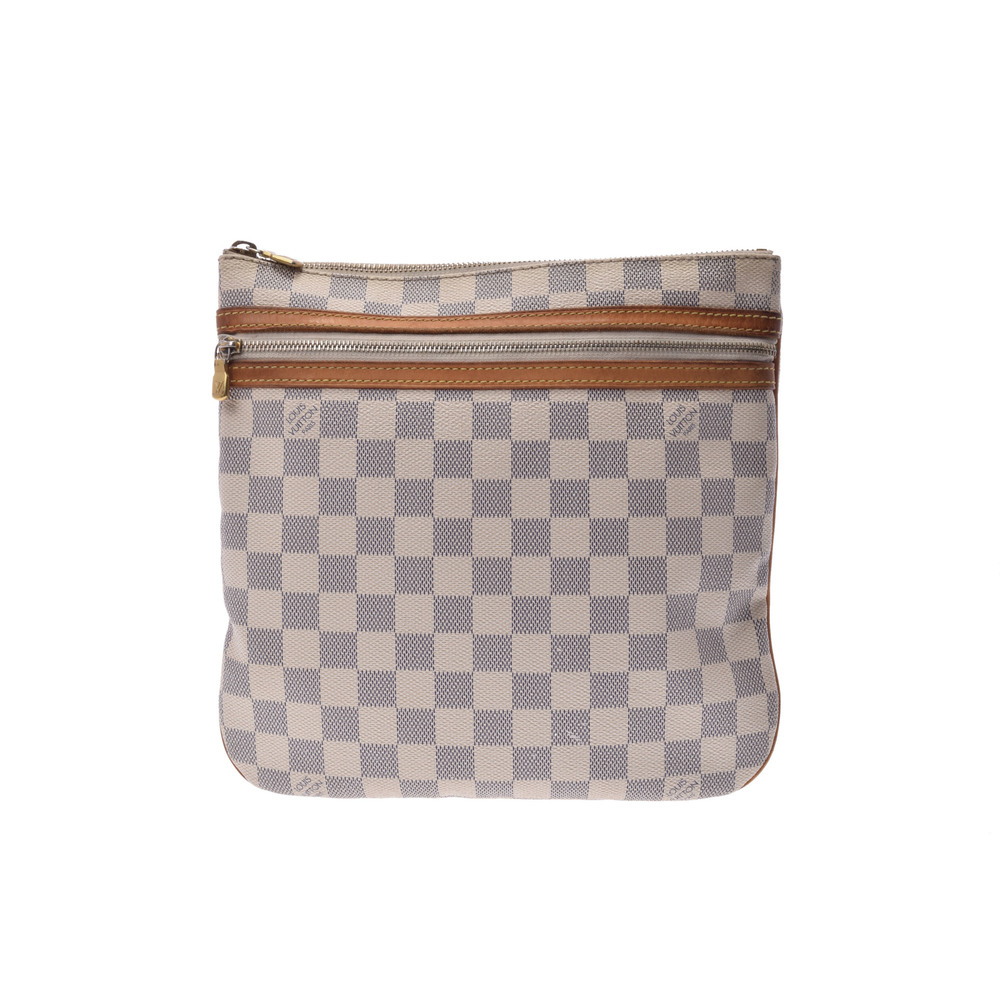c7a919ab2983 Louis Vuitton Damier Pochette Bosphore N51112 Shoulder Bag Azur