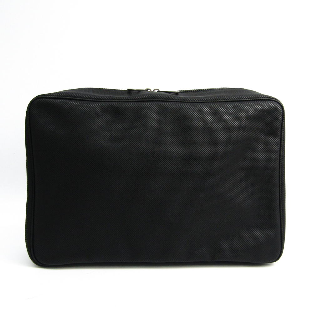 ボッテガ・ヴェネタ(Bottega Veneta) 130430 レディース PVC クラッチバッグ ブラック