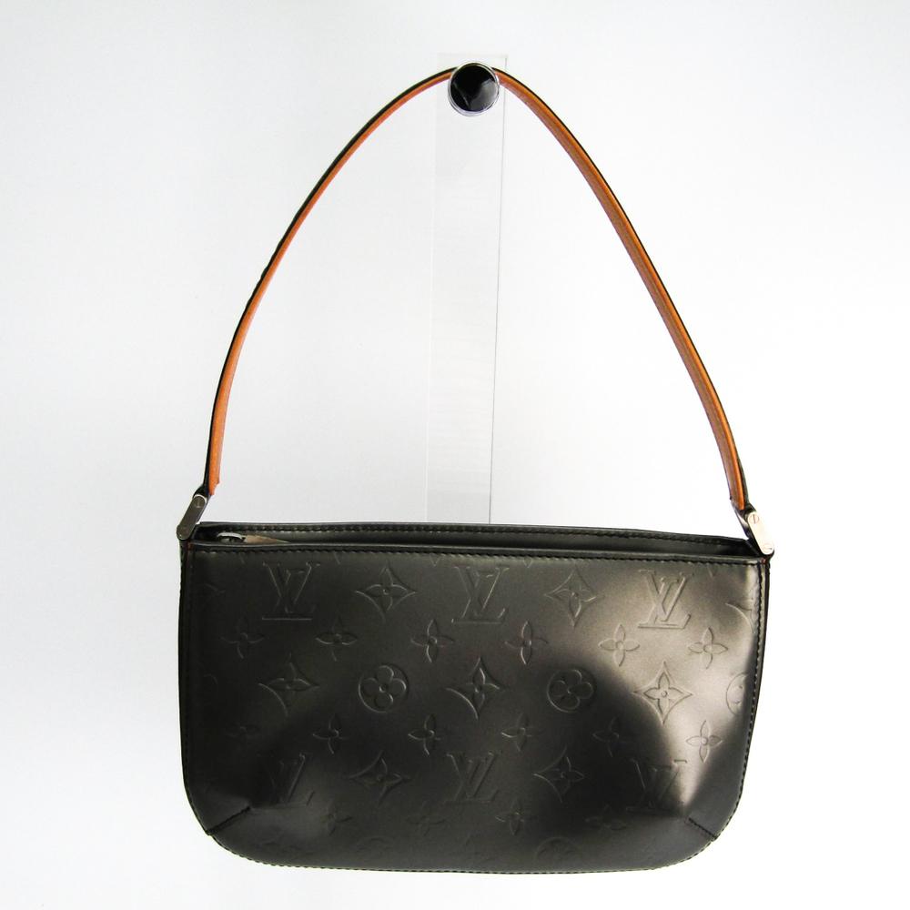 ルイ・ヴィトン(Louis Vuitton) モノグラムマット ファウラー M55142 ハンドバッグ ノワール