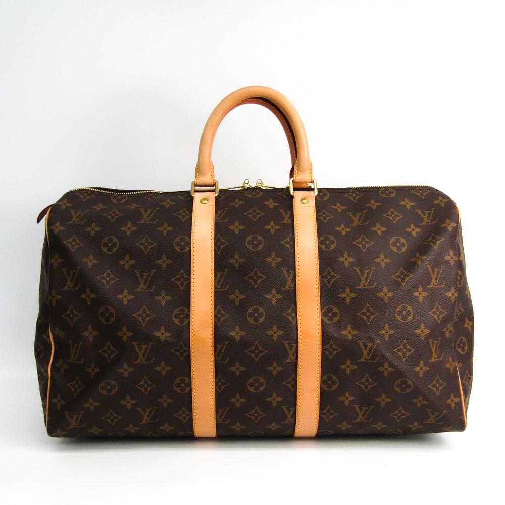 Louis Vuitton Monogram Keepall 45 M41428 Boston Bag Monogram