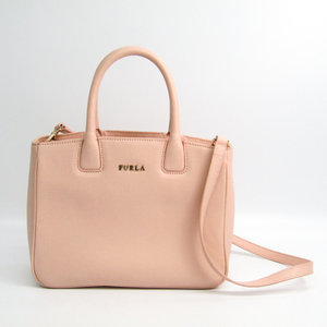 Furla Women's Leather Tote Bag Pale Pink
