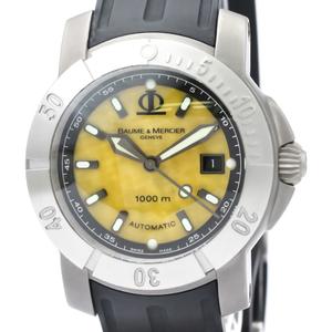 Baume & Mercier Capeland Automatic Titanium Men's Sports Watch MOA08319