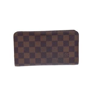 ルイ・ヴィトン(Louis Vuitton) ダミエ Zippy N61728 ダミエキャンバス 長財布(二つ折り) ダミエ