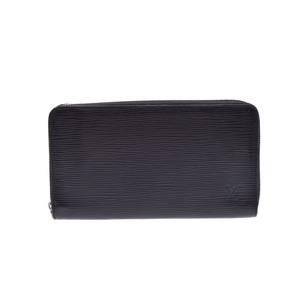 ルイ・ヴィトン(Louis Vuitton) エピ ジッピー・オーガナイザー M60632 メンズ エピレザー 長財布(二つ折り) ノワール