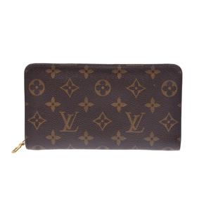 ルイ・ヴィトン(Louis Vuitton) モノグラム ZIPPY WALLET M61727 ボーイズ,ユニセックス PVC 財布 ブラウン