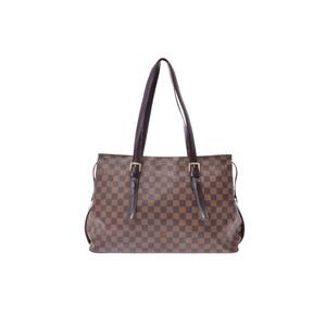 ルイ・ヴィトン(Louis Vuitton) ダミエ チェルシー N51119 ショルダーバッグ エベヌ