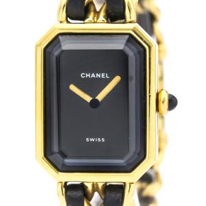 CHANEL Premiere Gold Plated Quartz Ladies Watch H0001
