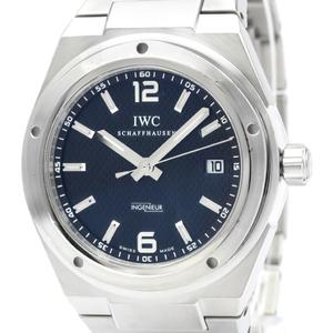 【IWC】インヂュニア ステンレススチール 自動巻き メンズ 時計 IW322701