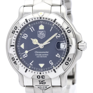 Tag Heuer 6000 Series Automatic Stainless Steel Men's Sports Watch WH5213
