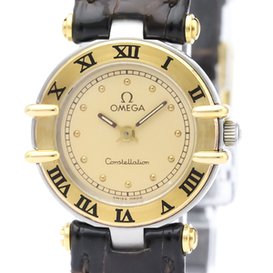 Omega Constellation Quartz Stainless Steel,Yellow Gold (18K) Women's Dress Watch 795.1080