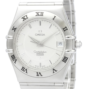 Omega Constellation Quartz Stainless Steel Men's Dress Watch 1552.30