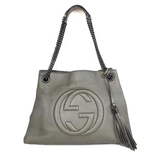 Auth Gucci Soho Shoulder Bag 308982