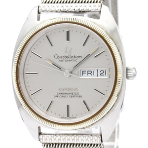 Omega Constellation Automatic Stainless Steel Men's Dress Watch 168.0057