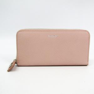 サン・ローラン(Saint Laurent) 414680 レディース  カーフスキン 長財布(二つ折り) ライトピンク