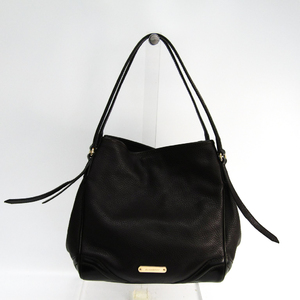 Burberry 3828163 Women's Leather Shoulder Bag Dark Brown