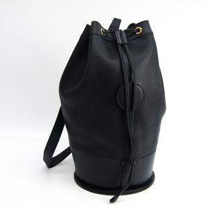 Hermes Standy Women's Courchevel Leather Shoulder Bag Blue Indigo