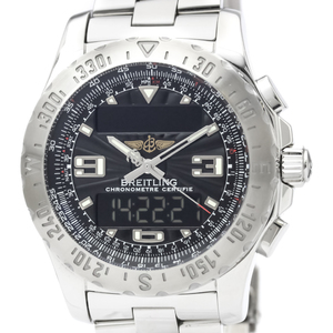 Breitling Airwolf Quartz Stainless Steel Men's Sports Watch A78363