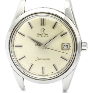 Omega Seamaster Automatic Stainless Steel Men's Dress Watch 14763