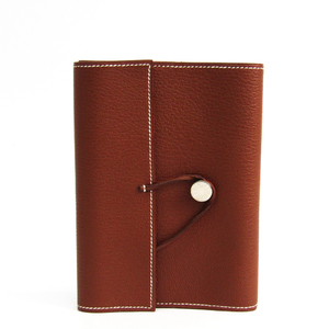 Hermes Planner Cover Brown book cover